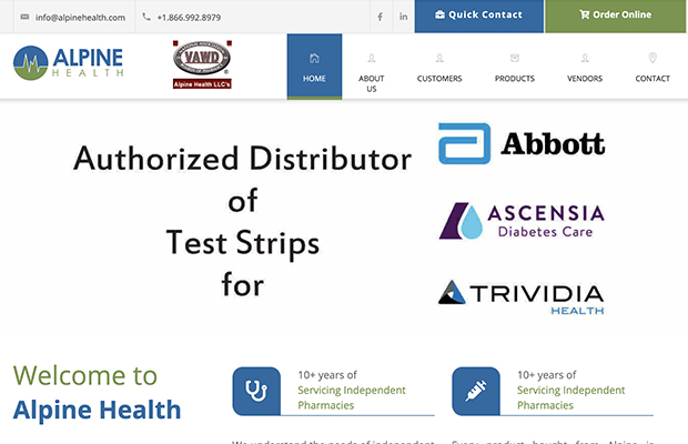 Website and web apps for health care, US