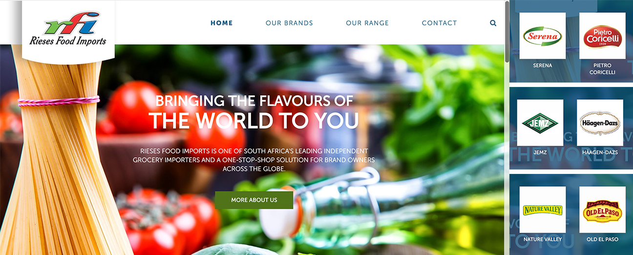 RFI Food Brands developed using wordpress Framework by www.bmcoder.com